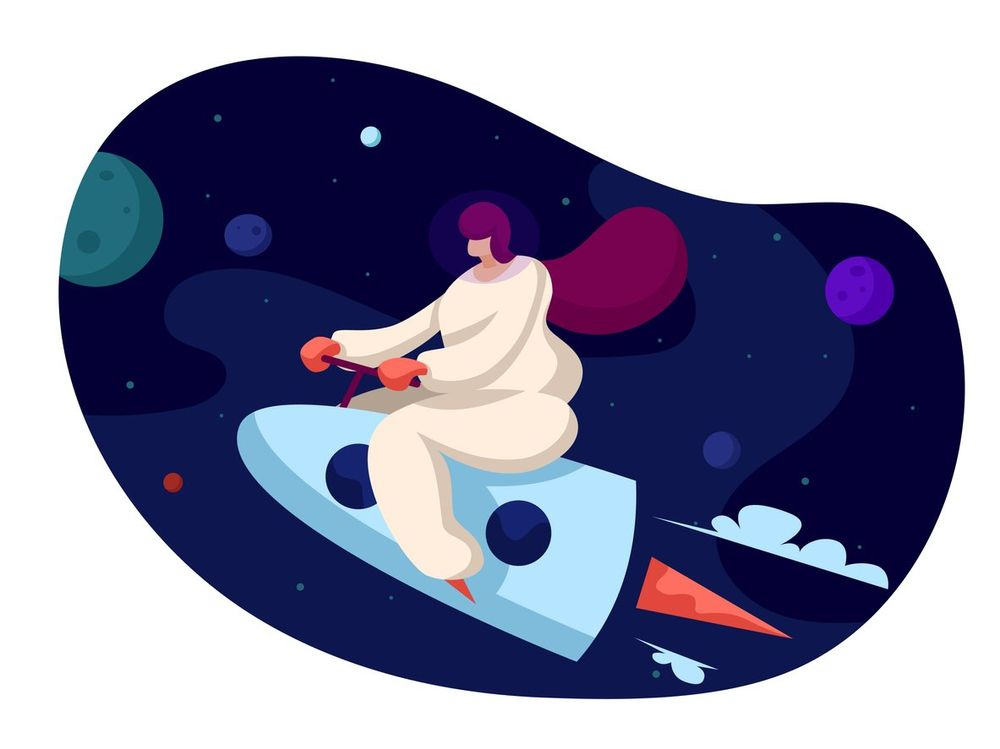 woman-astronaut-flying