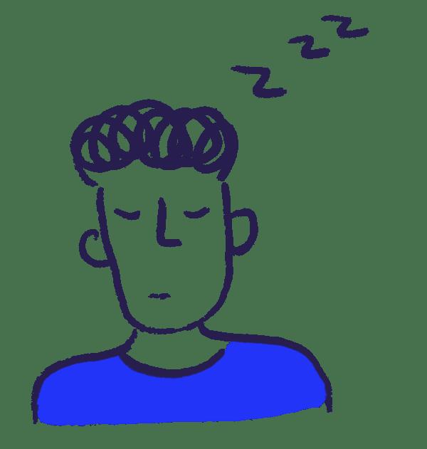 Man thinking about alerts