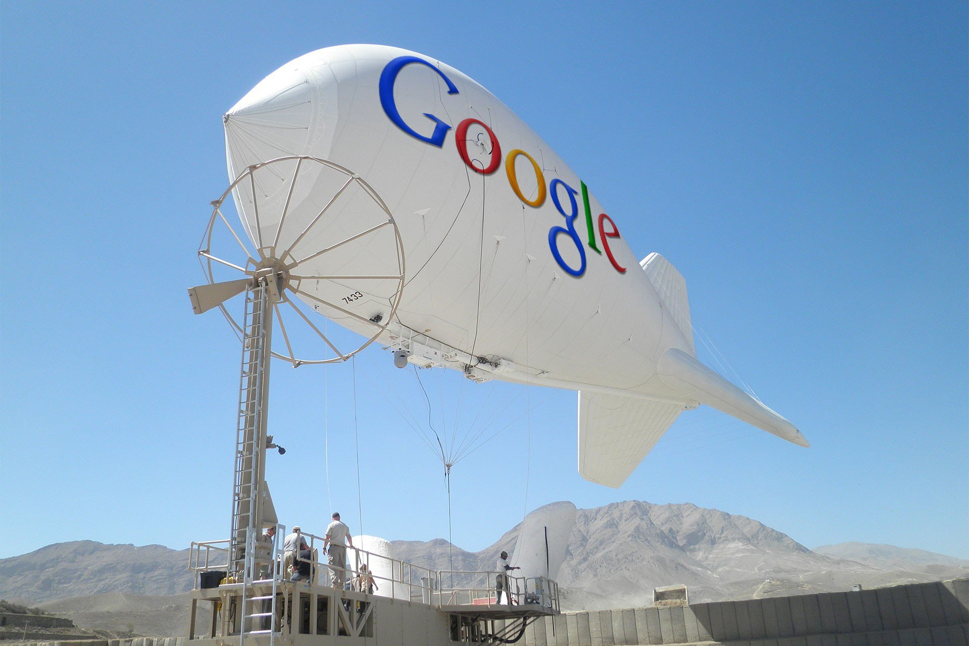 Google Blimps Bring Internet to Africa
