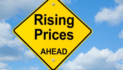 Rising Prices ahead